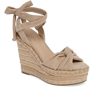 Women's Kendall + Kylie Grayce Espadrille Wedge $159.95 thestylecure.com