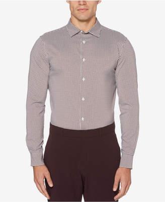 Perry Ellis Men's Mini-Check Performance Shirt