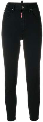 DSQUARED2 high-waisted skinny jeans