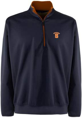 Antigua Men's Syracuse Orange 1/4-Zip Leader Pullover