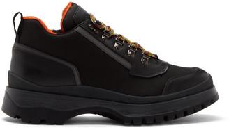 Prada Black Hybrid Hiking Boots