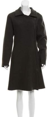 Oska Virgin Wool Knee-Length Coat