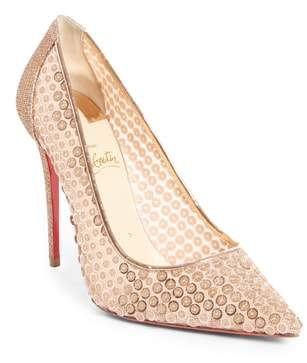 Christian Louboutin Cabaret Sequin Pointy Toe Pump