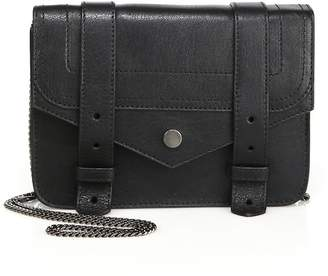 Proenza Schouler Women's Large Leather Chain Wallet