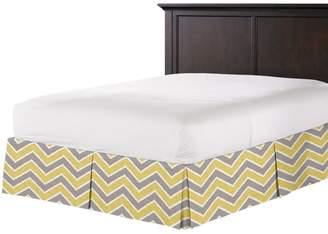 Loom Decor Tailored Bedskirt Rise & Fall - Buttercup