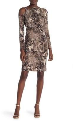 Amelia Cheetah Off-Shoulder Dress