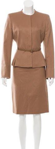 AkrisAkris Cashmere Skirt Suit