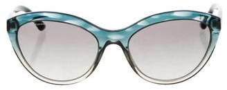 Giorgio Armani Cat-Eye Gradient Sunglasses