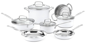 CuisinartChef's Classic Color Series Cookware Set (11 PC)