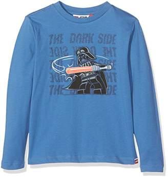 Star Wars Lego Wear Lego Boy TEO 657-Langarmshirt Longsleeve T-Shirt, (Blue 552)