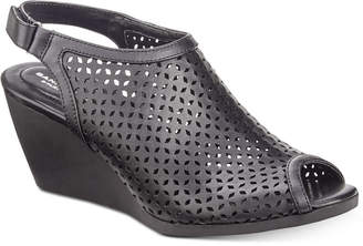 Bandolino Apela Perforated Wedge Sandals