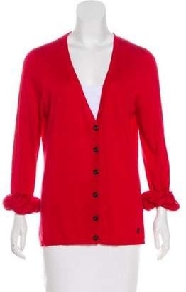 Burberry Wool & Silk-Blend Cardigan