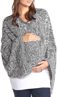 Tart Maternity 'Alana' Wool Maternity Poncho