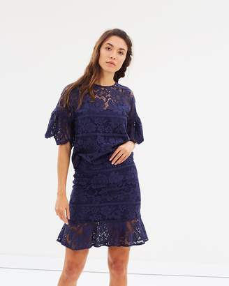 Warehouse Lace Skirt