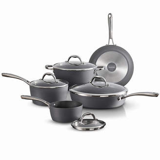 Tramontina Gourmet Slate Gray 9 Pc Cookware Set