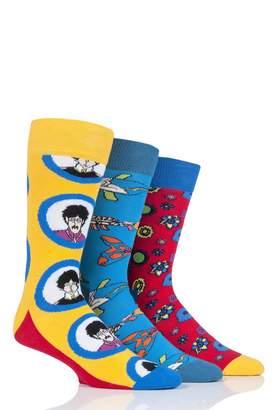 Happy Socks Giftbox EP (3-pack) The Beatles x 50th Anniversary)