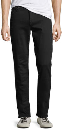 7 For All Mankind Men's Standard Straight-Leg Jeans with Squiggle Pocket