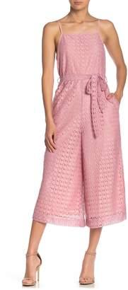 Line & Dot Valentine Lace Jumpsuit