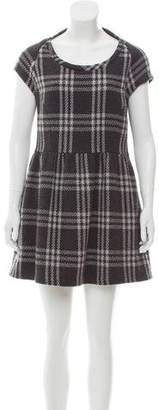 Geren Ford Vintage Plaid Dress
