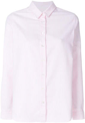 Closed striped relaxed shirt