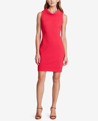 American Living Cowl-Neck Sheath Dress $79 thestylecure.com