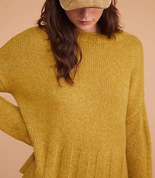 Lou & Grey Ribtrim Cashmere Sweater