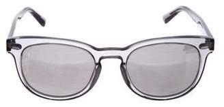 Dolce & Gabbana Round Mirrored Sunglasses