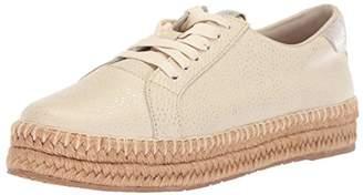 Kaanas Women's Arizona Leather Espadrille Platform Lace-Up Sneaker