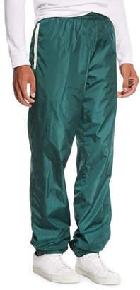 Moncler Men's Nylon Athletic Pants