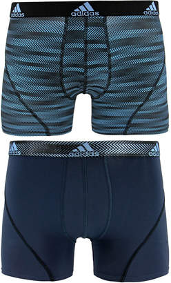 adidas Men's 2-Pk. Sport Performance ClimaLite Graphic Trunks