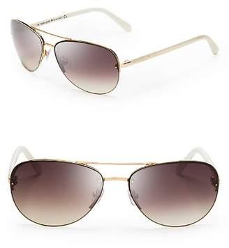 Kate Spade Women's Beryl Aviator Sunglasses, 59mm