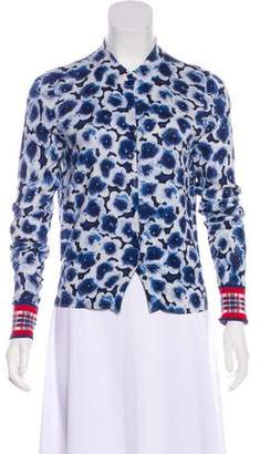 Marc by Marc Jacobs Floral Print Knit Cardigan