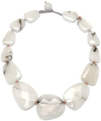 Lola Rose Lesley Natural White Quartz Necklace