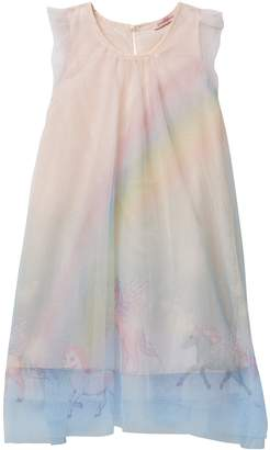 Paulinie Unicorn Printed Tulle Dress (Baby, Toddler, & Little Girls)