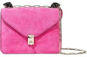 Valentino Panther Suede Shoulder Bag