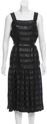 Chanel 2016 Pleated Dress