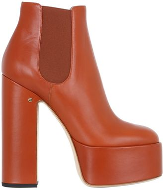 150mm Laurence Leather Ankle Boots $1,100 thestylecure.com