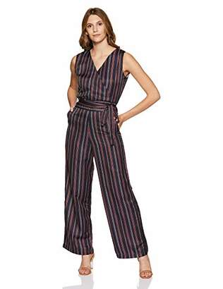 69c8a31c108 at Amazon.com · Boutique23 Womens V-Neck Color Straight-fit Jumpsuit