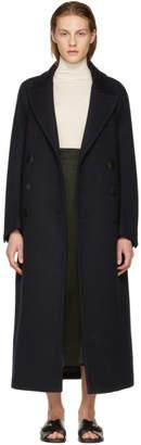 Joseph Navy Wool Coat