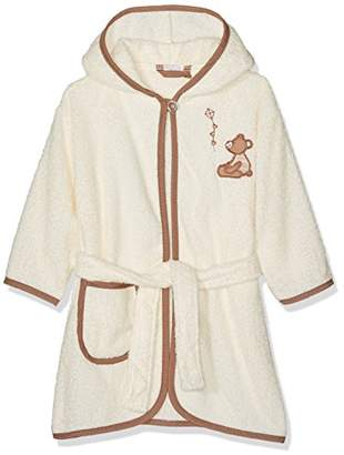 Playshoes Kids Terry Bathrobe Bear Hooded,(Manufacturer size: /116)