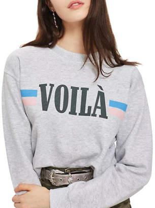 Topshop PETITE Voila Sweatshirt
