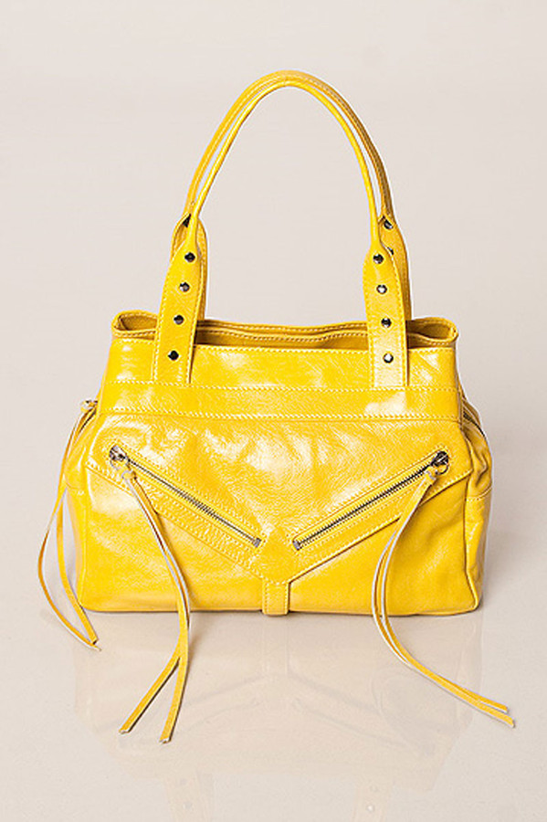 Botkier Trigger Satchel in Yellow
