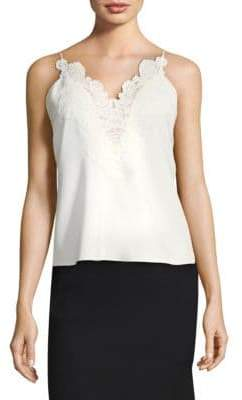 Elie Tahari Devoss Sleeveless Blouse