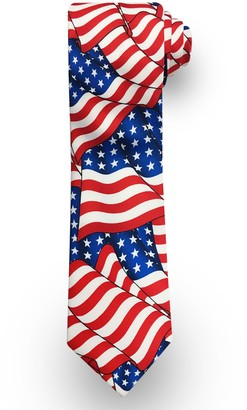 Men's Patriotic Americana Tie