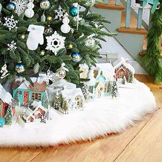 AMAES 36Inch Christmas Tree Skirt