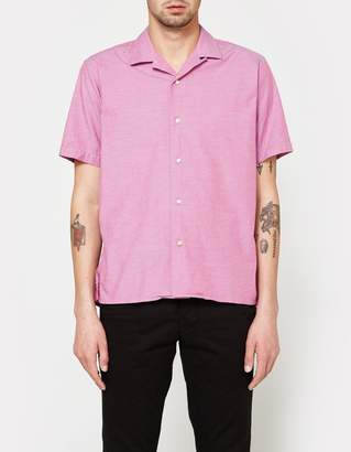 Gitman Brothers Iridescent Chambray SS Camp Shirt