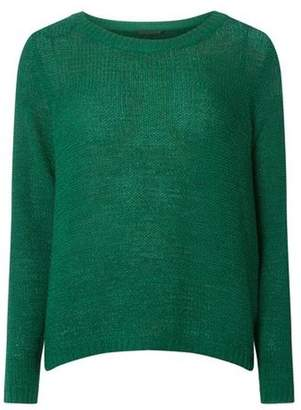 Dorothy Perkins Womens **Only Green 'Geena' Pullover Knitted Jumper
