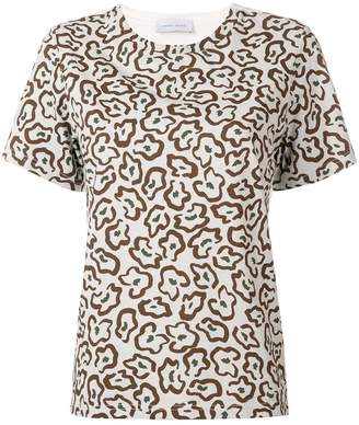 Christian Wijnants abstract floral print T-shirt