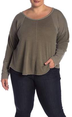 Lucky Brand Exposed Seam Thermal (Plus Size)