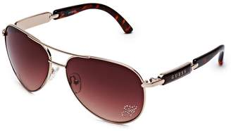 G by Guess Mirrored Aviator Sunglasses